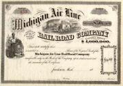 Airline Stock Certificate