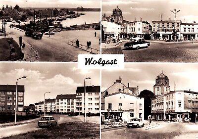 Wolgast  , DDR , Ansichtskarte