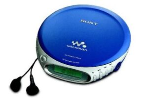 Sony Walkman portable CD players in good condition