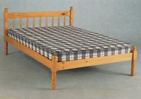 COLONIAL PINE BED FRAME - Kingsize