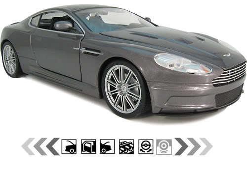 Aston Martin DBS 007 Bond ROYALE 1:18 Diecast Model Car ...