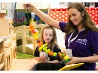 Level 3 Nursery leader providing childcare on weekends in East London