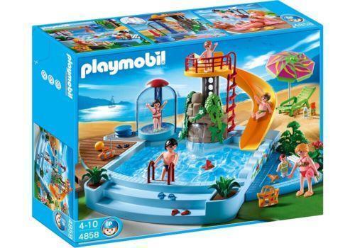 Playmobil pool ebay for Piscine playmobil 5575