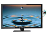 """Reflexion 32"""" 240/12volt tv slimline with DVD and Freeview"""