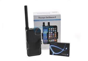 Thuraya Satsleeve + (Plus) Satellite phone with NOVA Prepaid SIM Card & 20 units
