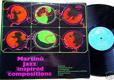 LP @ Various @ Martinu Jazz - inspired Compositions