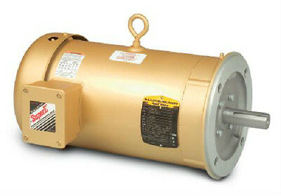 Vem3545  1 Hp 3450 Rpm New Baldor Electric Motor