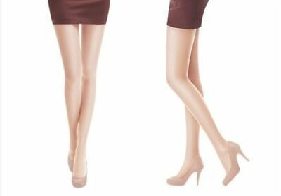 FLASEEK PANTYHOSE Coffee Color Leg Support Compression Stocking Prevent Varicose
