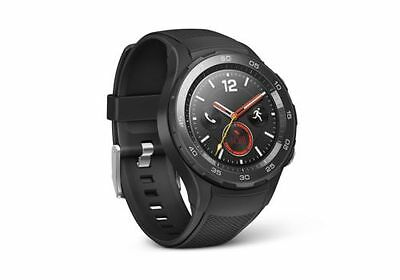 Huawei Inspect 2 - Carbon Black - Android Wear 2.0 (US Warranty) Brand New!