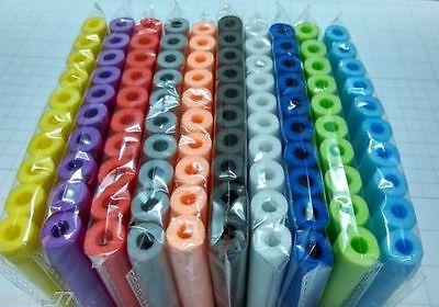 100PCS Refill Bullet Darts Nerf N-strike Elite Series Blasters Toy gun 10Color
