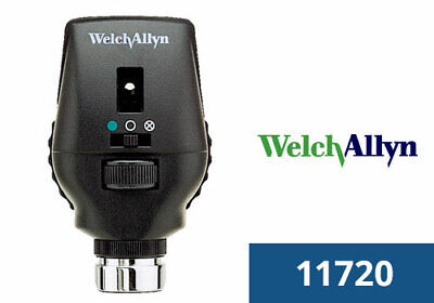 Welch Allyn 3.5v Halogen Hpx Co-axial Ophthalmoscope Head 11720 New