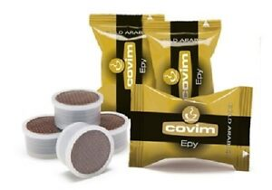 200-capsule-caffe-COVIM-miscela-GOLD-ARABICA-Lavazza-Espresso-Point-cialde