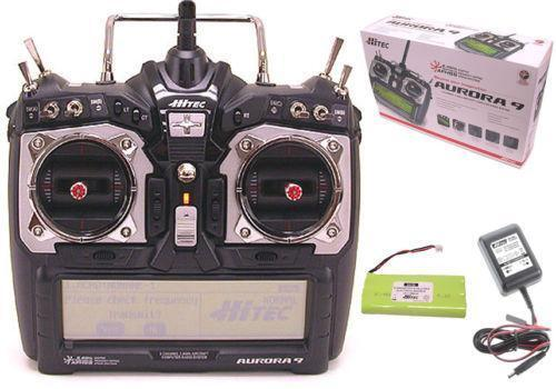 Optima Battery Charger >> Hitec Transmitter: Radio Control & Control Line   eBay