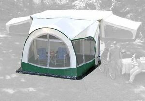 Cabana Lightweight Dome Awning & Screen Room 1 ONE!