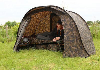 FOX Camo Easy Shelter / Pop Up Carp Fishing Shelter - CUM187