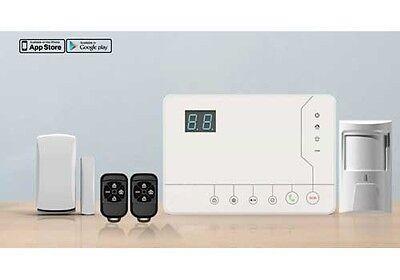Antirrobo Unidad de Control Inalámbrico Con Sensores Alarma Gsm / SMS -...