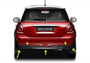 REAR LOWER BUMPER MINI COOPER R56 PARE CHOC INF (2007-2014)