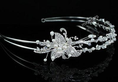 arbe Perle Diadem Benutzen Swarovski Kristall T1460 (Swarovski Kristall Tiara)