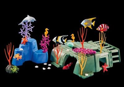 Playmobil Add On 6545 Coral Reef With Animals