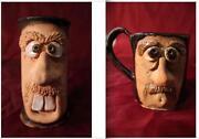 Pottery Face Mug