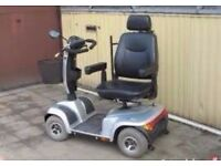 mobility scooter, serviced and new batteries