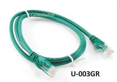 10 ft. Black INTELLINET 320764 CAT-5E UTP Patch Cable