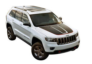 Jeep Grand Cherokee / Cherokee Stripes Decals