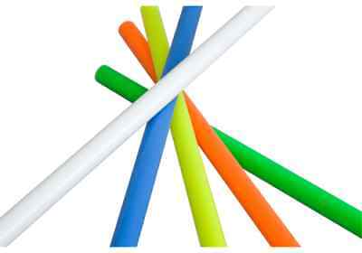 Devilstick- / Lunastix- Handstäbe / Silikon ummantelte Sticks v. Henrys / Farbe: