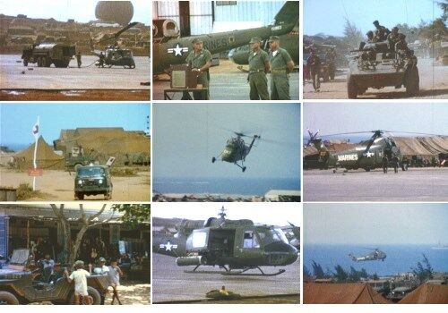 Vietnam War Home Movies DVD VMO-6 Ky Ha Danang USMC 1965-66