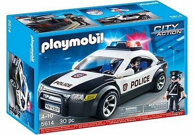 POLICE CAR vehicle city action patrol cruiser playmobil 5614 NEW playmobile