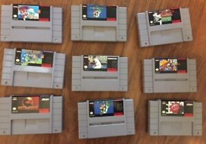 supernintendo games