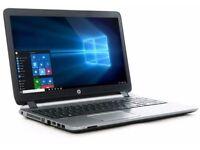HP ProBook 450 G3 Laptop Notebook 15.6 inch i3 4gb ram 500gb hdd ( rrp £400)