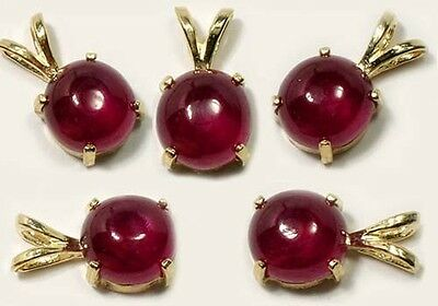 18thC Antique 3 1/3ct Ruby Ancient Hindu Ratnaraj King of Gems Warrior Talisman