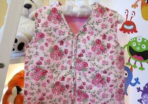 COZY TOUCH Baby Sleeping Bag 0.9 TOG RED ROSES 6-18 MONTHS