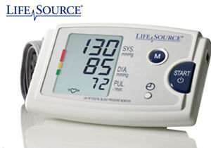 blood pressure monitor by life source small cuff new in box health special needs ottawa. Black Bedroom Furniture Sets. Home Design Ideas