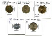 South Korea Coins