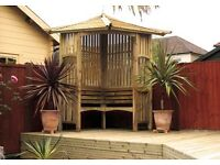 Fencing, Decking and Gates and garden sheds/ office's made on site to your requirements