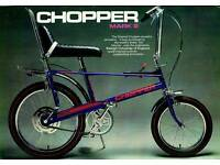 Wanted Raleigh Chopper