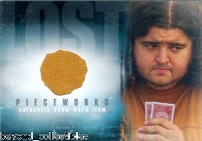LOST - SEASON 2 PIECEWORKS CARD - HUGO HURLEY'S SHIRT - JORGE GARCIA PW5
