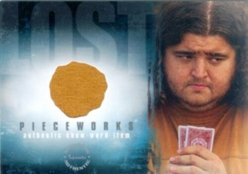 ABC LOST - SEASON 2 PIECEWORKS CARD 2007 - HUGO HURLEY