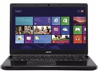 """Clearance Ex-DIsplay Model Laptop Acer Aspire E1-470P 14"""" Touchscreen i3-3217u 750GB HDD 4GB"""