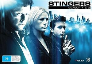 Stingers: Season 1 - 2 Collector's Set NEW R4 DVD