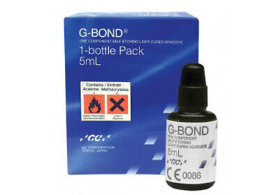 Dental Gc G Bond Kit 5ml Light Cured Self Etch Adhesive Resin 7th Generation