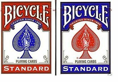4 New Decks Bicycle 808 Poker Playing Cards Rider Back