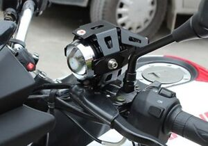 125W Waterproof U5 LED Motorcycle Headlight 3000LM CREE Driving