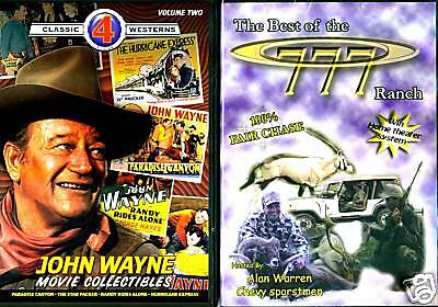 John Wayne; 4 Movies & The Best Of The 777