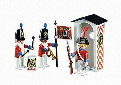 PLAYMOBIL. Accesorios. Custom. Figura. Vintage. Ingleses. Casacas Rojas Ref 6413