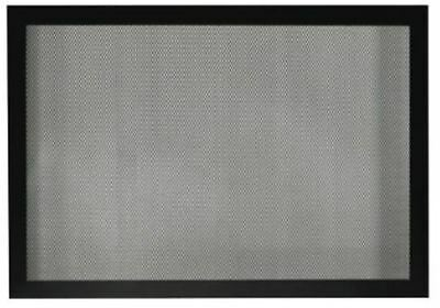 """Fireplace 42"""" Tall Barrier Screen - Matte Black"""