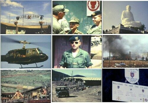 Vietnam War Home Movies DVD 5th SFG Nha Trang Plei Djereng Special Forces 1968