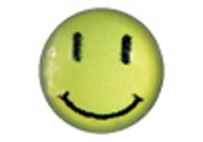 medizinische Ohrstecker, Gesundheitsstecker, Smiley